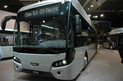 9 proc. Nyderlandų autobusų – elektriniai