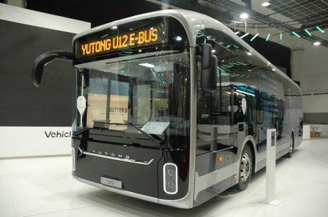 Vilniaus oro uoste – elektriniai autobusai