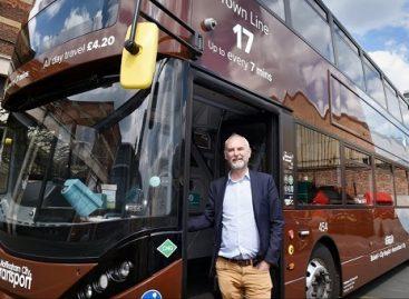 Notingame – didžiausias dviaukščių dujinių autobusų parkas