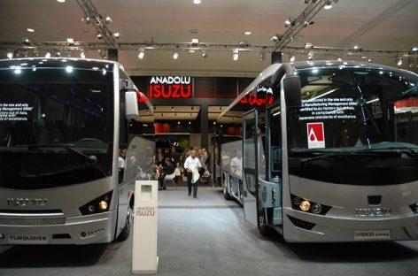 """""""ISUZU"""" gamintojai kviečia apsilankyti jų stende """"Busworld Europe"""" parodoje"""