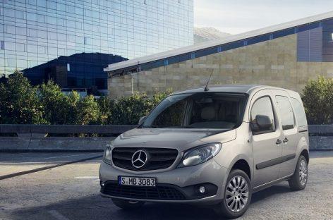 "Atnaujintas ""Mercedes-Benz Citan"" furgonas džiugina dar gausesne standartine įranga"