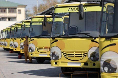 Uzbekistane – mobilūs darželiai autobusuose