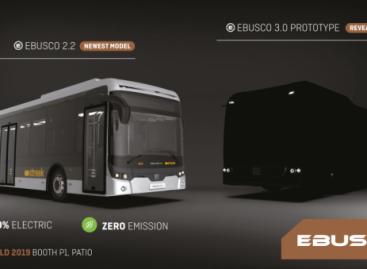 """""""Ebusco"""" """"Busworld Europe"""" pristatys originalų autobuso prototipą"""