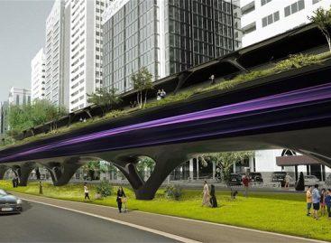 """Kaip galėtų atrodyti vakuuminiai """"Hyperloop"""" tuneliai miestuose?"""