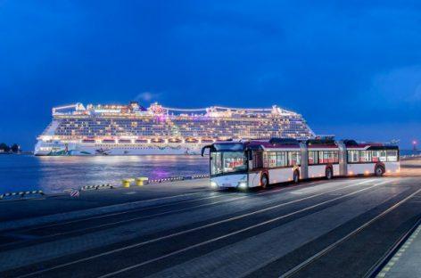 """""""Busworld"""" parodoje bus pristatytas """"Solaris Trollino 24"""""""