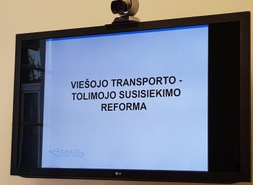 Aptarta Lietuvos tolimojo susisiekimo autobusais reforma