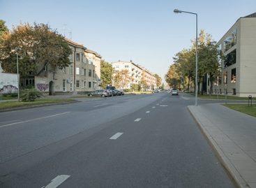 Rinktinės gatvės Vilniuje  laukia rekonstrukcija – nusidrieks naujas pėsčiųjų ir dviračių takas