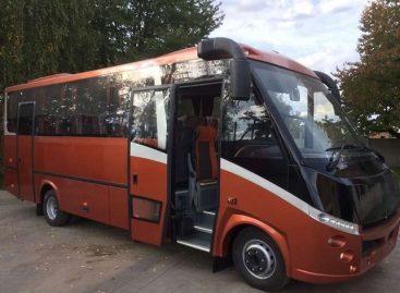 Ukrainiečiai pristatė naują modernų autobusą