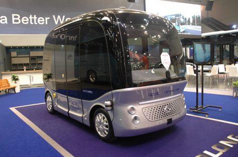"""""""King Long"""" stende """"Busworld Europe"""" – ir savivaldis autobusas"""