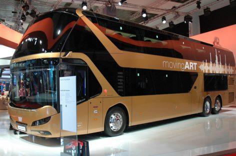 """MAN Truck&Bus"" naujovės ""Busworld Europe"""
