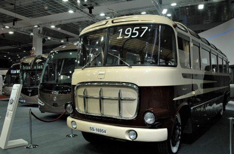 """""""Irizar Group"""" stende Briuselyje – transporto priemonių įvairovė"""