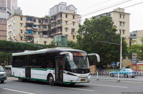 Troleibusai važinėja 27-iuose Kinijos miestuose, jų tinklas plečiamas