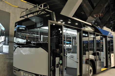 """Solaris"" pateiks troleibusus Norvegijos Bergeno miestui"