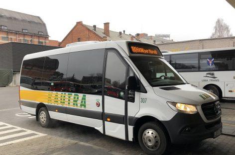 Lietuvos keliuose – dar penkiolika naujų autobusų