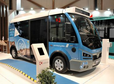 """Karsan"" stende ""Busworld Europe"" – tik elektriniai autobusai"