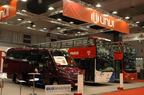 """Įdomesni ir retesni """"Busworld Europe"""" parodos eksponatai"""