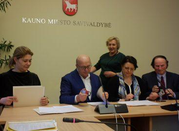 Kauno miesto Trišalės tarybos posėdyje pasirašyta bendradarbiavimo sutartis