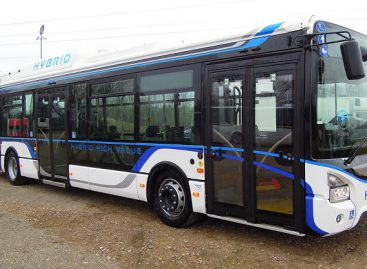 "Vilniečiai galės išbandyti ""IVECO Urbanway Hybrid"""