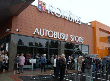 Rokiškio autobusų stotyje – staigmena keleiviams