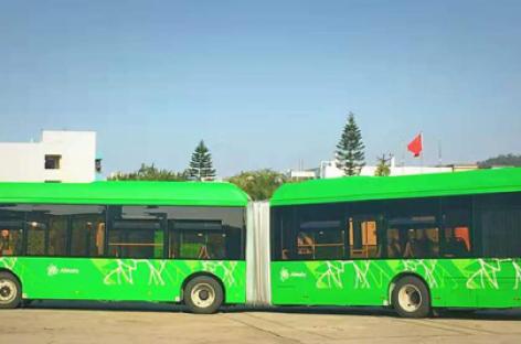 "Almatos vežėjai įsigis 60  ""Golden Dragon CNG"""