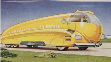 Kaip praeities menininkai įsivaizdavo nūdienos viešąjį transportą?