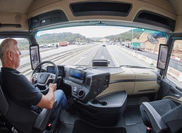 Autonominis sunkiasvoris transportas tobulėja greičiau nei lengvieji automobiliai