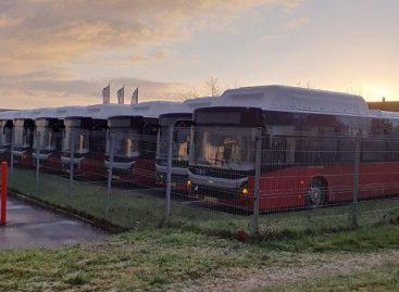 Šiandien Panevėžyje pristatomi nauji autobusai
