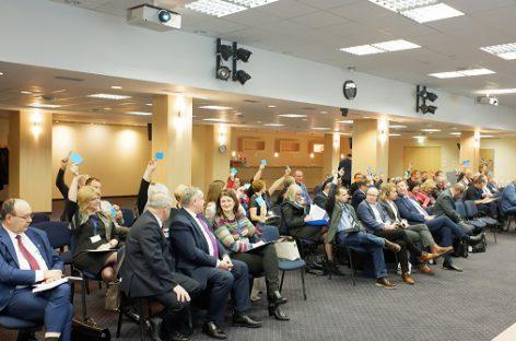 Vilniuje susitiko tarptautinių profesinių sąjungų vadovai