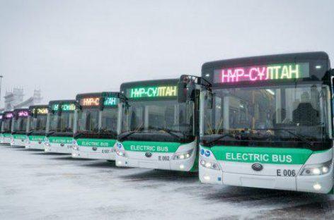 Kazachstano sostinei – 100 elektrinių autobusų