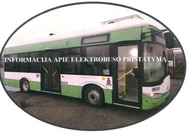 Elektrinis autobusas – jau Tauragėje
