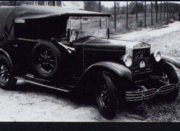 """""""FIAT 503"""" – legendinis automobilis"""