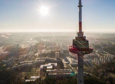 Sklandesniam eismo stebėjimui ir valdymui – kameros ant Vilniaus televizijos bokšto