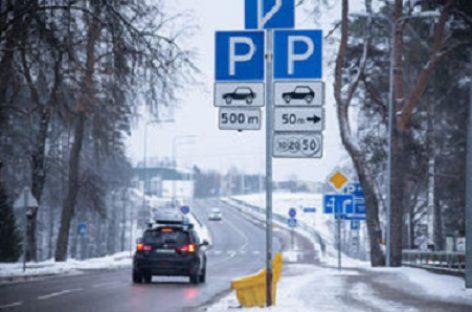 Siūloma atsisakyti sovietinio dizaino kelio ženklų