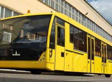 MAZ pristatė oro uostams skirtą autobusą