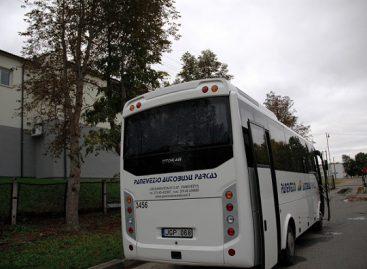 Keliaujantiems Panevėžio autobusais siūlomos nuolaidos