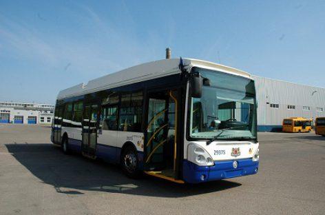 Rygoje viename iš maršrutų autobusus pakeitė troleibusai