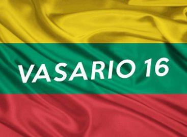 Su Lietuvos nepriklausomybės atkūrimo diena