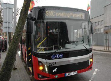 Intensyvinamas Panevėžio miesto autobusų eismas