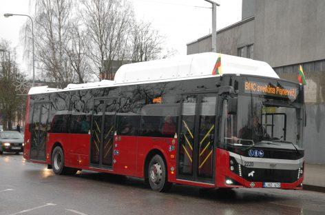 Nuo balandžio Panevėžyje retėja autobusų eismas