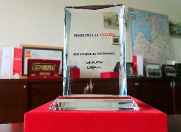 """UAB """"Saločiai ir partneriai"""" – garbingas apdovanojimas"""