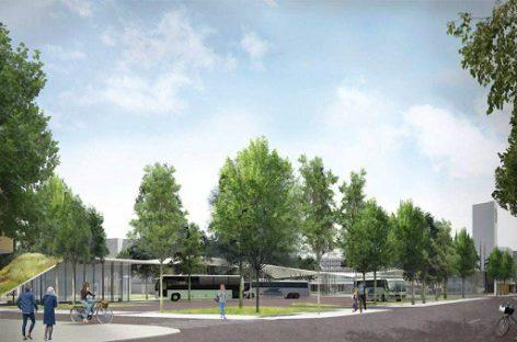 Pasirašyta sutartis dėl paramos Panevėžio autobusų stoties statyboms