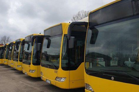 """""""Busturo"""" nenaujų autobusų pirkimo iššūkiai"""