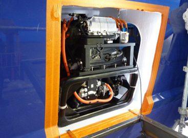 """""""Toyota"""" vandenilio technologijos naudojamos aplink pasaulį plaukiančiame laive"""