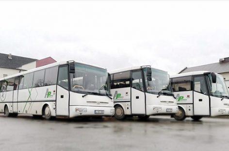 Atsinaujino Mažeikių autobusų parkas
