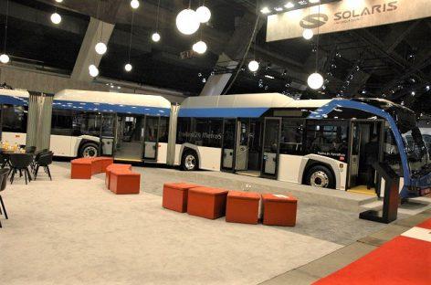 """2019-aisiais """"Solaris"""" pagamino 162 elektrinius autobusus, planai 2020-iesiems – daugiau kaip 500"""