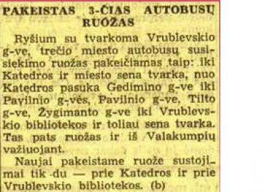 Autobusų istorija 1940 m. rugpjūčio mėnesį