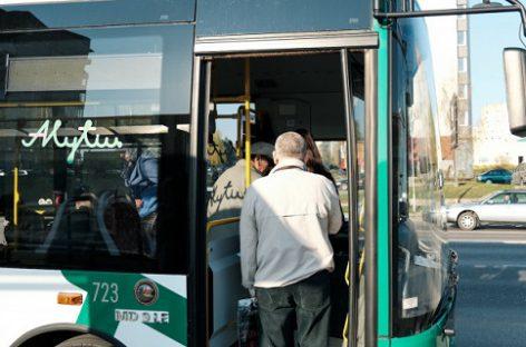 Alytuje didinami viešojo transporto apribojimai