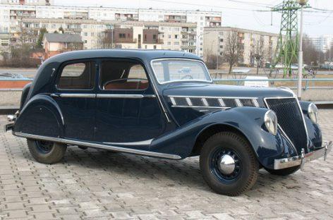 """""""Renault Viva Grand Sport"""" – automobilis, prieš karą Rygoje vežęs Prancūzijos ambasadorius"""
