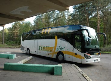 Siuntų pervežimas atnaujina tarpmiestinių autobusų darbą