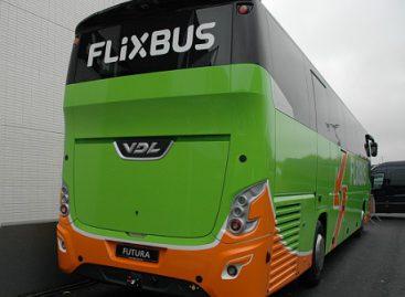 """""""Flixbus"""" stabdo veiklą"""